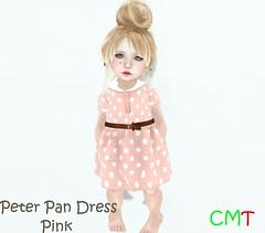 Peter Pan dress Pink (Hadleigh Josephine Reign) Tags: pink dress peterpan bean peter secondlife pan todd toddledoo
