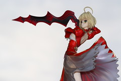 Making Shishkabobs (katsuboy) Tags: anime saber fatestaynight saberextra