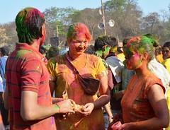 The Celebration of colour in Santiniketan...Basanta Utsab (submit88) Tags: india color festival spring celebration holi westbengal indianfestival festivalofcolors birbhum santiniketan basantutsav dolutsab