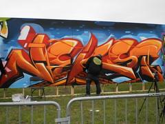 nekst (wanderingdictator) Tags: art bench graffiti trains walls msk graff benching