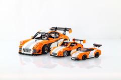 LEGO Porsche 911/997 GT3 Hybrid (Malte Dorowski) Tags: speed lego 911 champion line porsche finish hybrid gt3 997 75912 foitsop