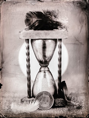 Sand glass (Nagy Krisztian) Tags: glass sand ambrotype wetplate collodion
