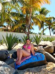 Beach Babe (ThickCpl) Tags: sexy beach curvy bikini milf plump thick busty voluptuous