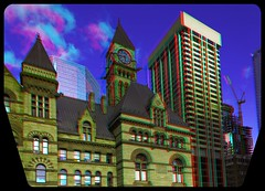 Old City Hall, Toronto 3-D ::: HDR/Raw Anaglyph Stereoscopy (Stereotron) Tags: urban toronto architecture modern radio canon eos stereoscopic stereophoto stereophotography 3d downtown raw control contemporary kitlens twin anaglyph financialdistrict stereo townhall stereoview to remote spatial 1855mm innercity hdr redgreen tdot 3dglasses hdri transmitter stereoscopy synch nathanphilipssquare anaglyphic optimized in threedimensional hogtown stereo3d thequeencity cr2 stereophotograph anabuilder thebigsmoke synchron redcyan 3rddimension 3dimage tonemapping 3dphoto 550d torontonian hyperstereo stereophotomaker 3dstereo 3dpicture anaglyph3d yongnuo stereotron