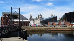 Liverpool Skyline Across Albert Docks (Gilli8888) Tags: liverpool docks albertdocks merseyside city skyline water pierhead cityscape