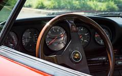(e.m.alder) Tags: porsche 911 targa 911g whaletail carrera interior steeringwheel dash dashboard tachometer dials guages momo red automotive car sportscar classic vintage vehicle
