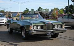 1973 Mercury Cougar XR-7 Convertible (RudeDude2140a) Tags: 1973 mercury cougar xr7 convertible classic sports car green
