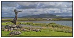 Waiting on the Shore (judmac1) Tags: statue ireland shore