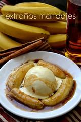 Banana Foster (extraosmaridajes) Tags: food ice cooking fruit postre dessert sweet comida banana fruta helado dulce pltano bananafoster vainilla
