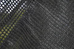 Grass Catcher Bag (mslabrat13) Tags: black mesh textures macromondays grasscatcher