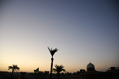 Sunrise over Old Cataract Hotel, Aswan / Egypt (anji) Tags: egypt misr masr middleeast northafrica maghreb arab arabworld aswan nile