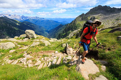 La Lunga Salita (Roveclimb) Tags: mountain montagna alps alpi alpinismo car caralto adamello trentino tione pelugo borzago mountaineering alpinism rifugiocaralto montecaralto adventure