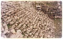 open seats (mdoughty68) Tags: phrygian roman ancient ruins historical turkey turkiye pessinus ballihisar