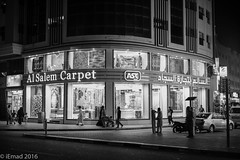 The carpet corner... (EHA73) Tags: leica nightphotography dubai commerce uae streetphotography shops deira leicamm aposummicronm1250asph typ246