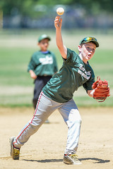 Little League Baseball Pitcher (Q Win) Tags: boy game field sport ball baseball outdoor pitcher littleleague nearsouth
