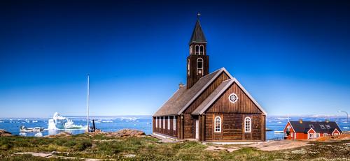 The Zion Church, ilulissat, Greenland
