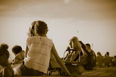 Boardwalk (Maria Eklind) Tags: sunlight sunset nature city vstrahamnen trdcket sun summer siluett malm boardwalk vatten sundspromenaden solnedgng goodnightsun silhouette europe sky sweden skneln sverige se