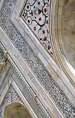 Taj Mahal 168 (David OMalley) Tags: world india heritage river site tomb taj mahal agra unesco mausoleum shah pradesh uttar jahan mughal mumtaz yamuna
