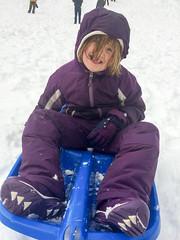 sledding at white river (dolanh) Tags: winter snow renee whiteriver sledding zooey snopark mthoodwilderness whiteriversnopark