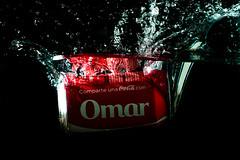 Reto Fotos Acuticas : Soda Splash (Omar Mora Fotografa) Tags: splash cocacola producto agua rojo lowkey red water soda refresco