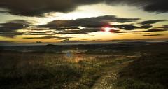 DSC_93571 (Dan Nash1) Tags: church stretton shropshire landscape longexposure nikon d800 2470mmf28 nd filter lens flare 2016 setting sun