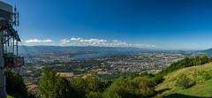 Panorama sur le Lman depuis le Salve. (schatanay) Tags: hautesavoie lac paysage evian lman panorama efs1855mm3556ii canon eos350d france rhonealpes beaumont auvergnerhnealpes fr
