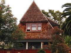 Peaked Roof #3 (Melinda Stuart) Tags: peakedroof roof steep explore shingle berkeley architecture house
