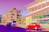 campusHSS-001 (Yvonne Rathbone) Tags: bancroft hss ucberkeley bug campus red sliderssunday southside vw artistic wow technical 1855mmf3556gvr wideangle