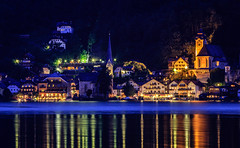 Hallstatt by Night (SkyBlue Photography Pro) Tags: ifttt 500px hall hallstattersee obertraun salzkammergut austria landscape panorama dachstein oostenrijk see meer lake view canon scene night long exposure