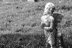 Strangled Innocence (beth.bozes) Tags: broken angel sorrow prayer statue