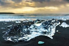 Crystal & Ice (DSC9453) (DJOBurton) Tags: iceland crystalball jkulsrln