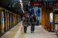 Estacion Juan Manuel de Rosas (martinviola) Tags: street subway station argentina subte people