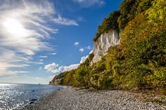 _MG_9772 (Bastian_89) Tags: green herbst autumn sea baltic side wasser meer ostsee wellen wolken sonne clouds kreidefelsen landschaft landscape natur