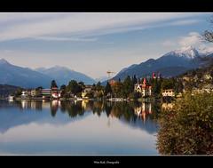 Millstaetter See Mirrored ( WimKok) Tags: canon eos7d austria sterreich carinthia krnten millstatt milstattersee