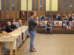 MICKAL WAMEN (marsupilami92) Tags: frankreich france goodyear syndicat cgt solidaires soutien manifestation justice appel ledefrance 75 paris boursedutravail 10emearrondissement mickalwamen