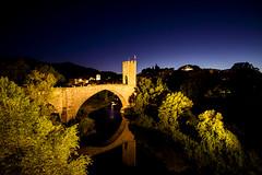 Besal (_lyz_) Tags: besal besalu girona gerona espaa viaje viajes travel castillo castle atardecer puente bridge spain medieval garrocha