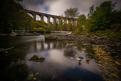 DSC_1201 (waynehodge940) Tags: viaduct merthyr cefn coed y cymmer river taff autumn fall wales heritage welsh