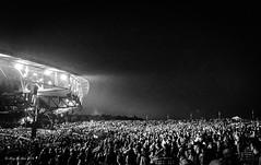 A Sea of Plaid (megmcabee) Tags: weather jasonaldean virginia plaid pavilion outside country concert blackandwhite