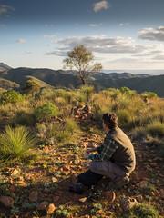 a view, a stoic (liam.jon_d) Tags: australia australian australiannationalpark billdoyle dutchmans dutchmansstern dutchmanssternconservationpark evening flinders flindersranges landscape lastlight mountain nationalpark range sa southaustralia southaustralian sunset theflinders pickmeset