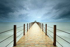 Keracut Jetty during the storms & big wave (<Pirate>) Tags: pantai keracut jetty during storm october 16th 2016 beach penang national park turtle hatchery landscape seascape sea water rain big wave rainy day hiking haida nd30 10stops ray masters gnd 4hard 1018 is stm teluk bahang