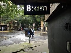 8:am (-jamesstave-) Tags: mexico mexicocity cdmx df distritofederal ciudaddemxico coloniaroma romanorte street calle city ciudad numbers nmeros letters letras iphone5s