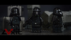 Imperial Death Trooper - Star Wars Rogue One (AndrewVxtc) Tags: lego star wars custom rogue one imperial death trooper waterslide decals andrewvxtc