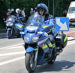 Yamaha FJR 1300 Police Motorcycle (Grumman G1159) Tags: yamaha fjr1300 police gendarmerie tourdefrance caravanne