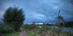 Stormy Weather in KInderdijk (wimzilver) Tags: leefilters lee wimboon wimzilver kinderdijk holland alblasserwaard canonef2470mmf28liiusm canoneos5dmarkiii