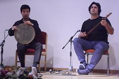 Veria Amiri (2016) 02 (KM's Live Music shots) Tags: worldmusic iran china veriaamiri setar dap framedrum handpercussion drums opencentralasiainternationalfestival soas