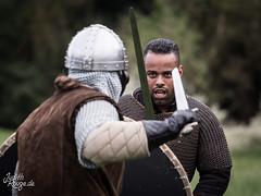 Fight (judithrouge) Tags: fight kampf kmpfer fighter action larp reenactment fantasy medieval mittelalter
