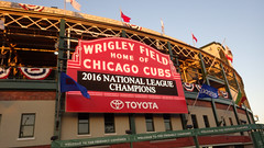2016 National League Champions (spablab) Tags: wrigley field fieldhouse chicago cubs illinois baseball mlb 2016 national league champ champions major