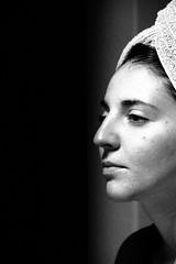 mirror... (sicca85) Tags: canon blackwhite biancoenero portrait donna amore doccia monocromo siccardimassimo sfondo nero