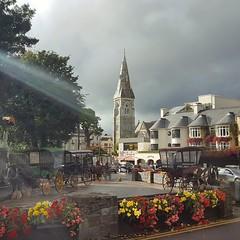 In Killarney (Randy Durrum) Tags: killarney durrum ireland samsung s6 clouds lens flare europe eu flowers