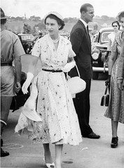 1954, 15 March. Rockhampton. Queen Elizabeth II's visit. (Love in a little black diary) Tags: centralqueensland vintagequeensland familyhistory 1954 queensvisit rockhampton queenelizabeth